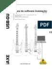 USB-Guitar iAXE393 User Manual