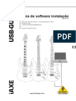 USB-Guitar iAXE393 User Manual