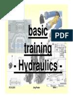 Basic Training Hydralic
