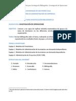 Investigación Bibliográfica Enero 2015