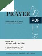 My Prayer the second pillar of Islam