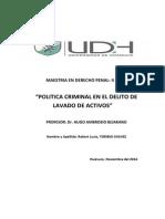 Trabajo Monografico Politica Criminal en El Delito de Lavado de Activos
