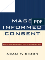 Simon(2011) - Mass Informed Consent