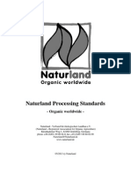 Naturland Processing Standards Organic Worldwide