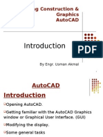 AutoCAD Introduction