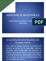 Ministerio de Salud Pblica Registro San Productos Naturales