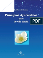 3 Principios Ayurvedicos de La Vida Diaria - K Parvathi