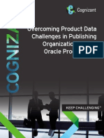 Overcoming Product Data challenges in Publishing Organizations Using Oracle Product Hub