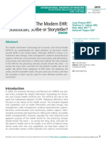 Clinicians and The Modern EHR
