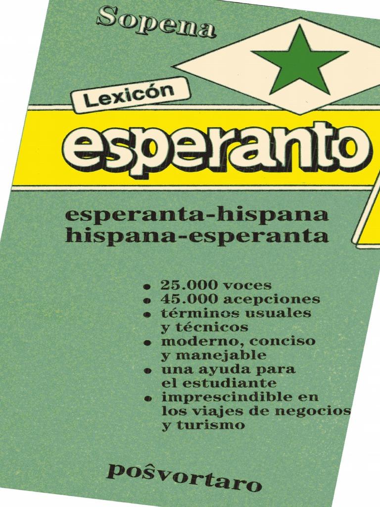 Diccionario Sopena Esperanto-Español Español-Esperanto