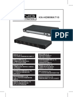 Manual Kn-hdmimat10 Update Comp