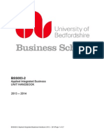 Applied Integrated Business Handbook Rev 2013 2014-2