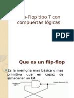 Flip-Flop Tipo T Con Compuertas Lógicas