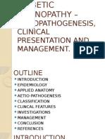 Diabetic Retinopathy – Aetiopathogenesis, Clinical Presentation And