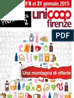Volantino Prodotti in Offerta Superstore Unicoop Firenze 8 Gennaio