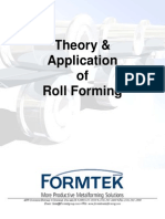Theory Application of Roll Forming (2010)-Web