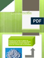 cristalizacion diapositivas