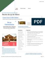Receta de Aji de Fideos - Cocina Boliviana