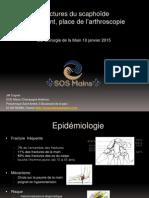 Fractures Du Scaphoide Traitement Place de l'Arthroscopie