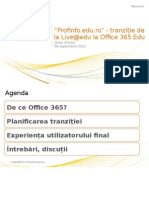 Profinfo.edu.Ro Upgrade to Office365