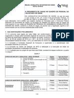 EDITAL 001 2015 Administrativo