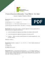 Lista 1 (PMQ311)