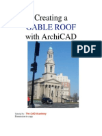 TCA ArchiCAD QuickStart Gable Roof