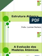 Aula Estruturas Atômicas