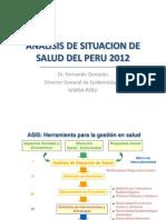 Análisis de Situación de Salud en El Perú (1)