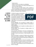 Ita Física 2006