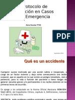 Protocolo de Atención en Casos de Emergencia
