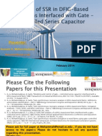 Analysis of SSR in DFIG Based Wind Farms - A Toturial