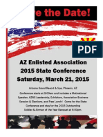 2015 EANGA State Conference Save the Date