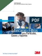 3M Catálogo Mascaras y Filtros Para Particulas