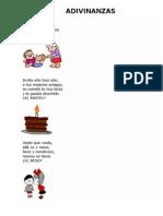 Adivinanzas para niños