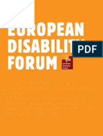 Raport Forum Dizabilitati Eu 2010