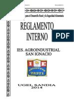 4. Reglamento Interno Ies Agro Industrial San Ignacio