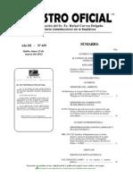 Ordenanza - Sistema de Participacion Ciudadana (Provincia de Carchi) - Marzo 2012