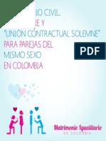Guía de matrimonio para parejas del mismo sexo en Colombia