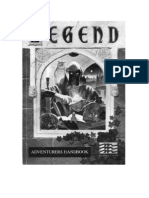 Legend Adventurers Handbook