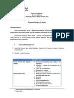 Temarios Examen de Grado 2015 (Tres Ejercicios)