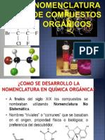 Nomenclatura de Compuetos Orgánicos