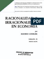 A. Objeto y Metodo de La Antropologia Economica