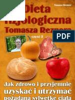 Dieta fizjologiczna Tomasza Reznera – cz. II