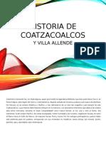 Historia Coatzacoalcos