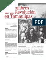 Los Hombres de La Revolución en Tamaulipas
