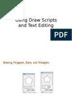 Using Draw Scripts