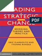 [TIN-LIB-25]Eric Flamholtz, Yvonne Randle Leading Strategic Change Bridging Theory and Practice 2008