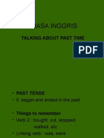 Talking About Past Time