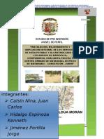 Perfil Saneamiento Integral Matahuasi Ff